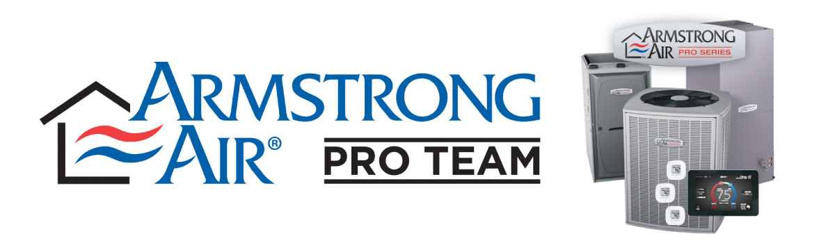 Armstrong Air Pro Team - Your local furnace and air conditioner experts.